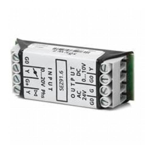 Преобразователь сигнала DC 0...20 V phs. в DC 0...10 В