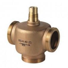 3-ходовый седельный клапан, внешняя резьба, PN16, DN40, kvs 25
