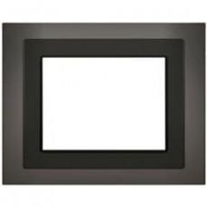 Рамка UP 588/814, для информационных панелей UP 588, чёрное стекло (снимается с производства)