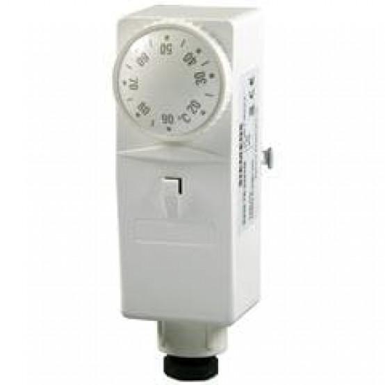 Накладной регулятор температуры, 0...90 °C, фиксирующая пружина, внешний задатчик уставки
