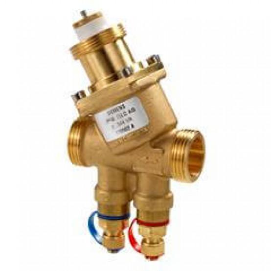 Комбиклапан, PN25, DN15, 30…200 л/ч, с патрубками для измерения давления