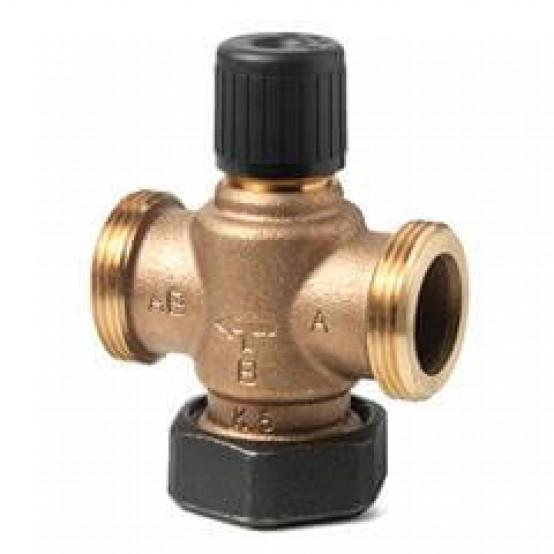 Клапан регулирующий, 2-ходовой седельный, внешняя резьба, PN16, DN25, KVS 6.3
