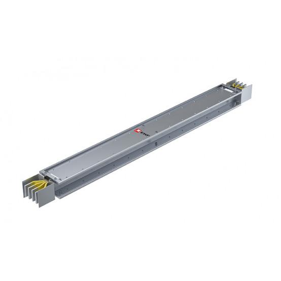 Прямая магистральная нестандартная секция 2500 А IP55 AL 3L+N+PE(ШИНА) длина 1,0м-1,99м