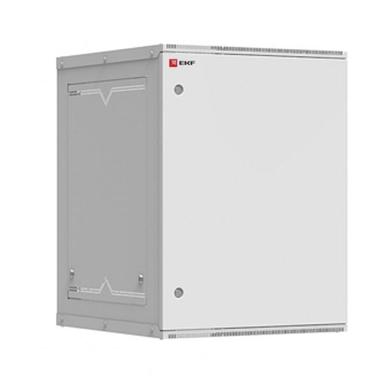 Шкаф телекоммуникационный настенный разборный 15U (600х650) дверь металл, Astra серия EKF PROxima