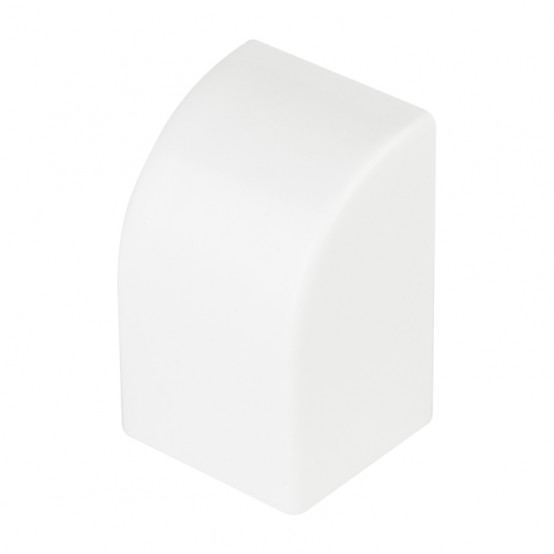 Заглушка (25х25) (4 шт) Plast EKF PROxima Белый