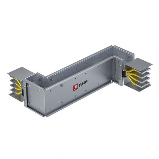 Cекция Z-образная вертикальная 2500 А IP55 AL 3L+N+PE(КОРПУС)