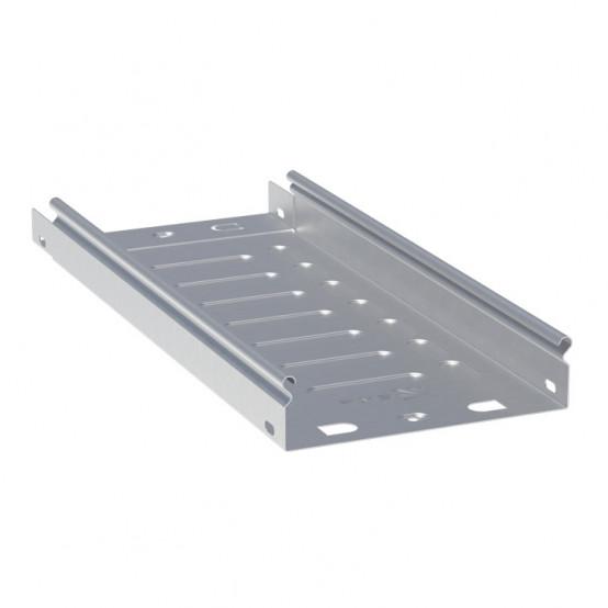 Лоток неперфорированный металлический 50х150х3000-0,7мм (24м) EKF