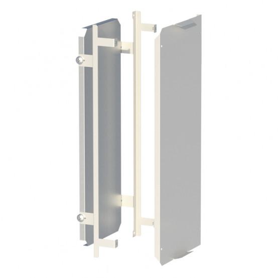 Комплект монтажной панели и фальш-панели для ModBox высотой 500 мм EKF PROxima
