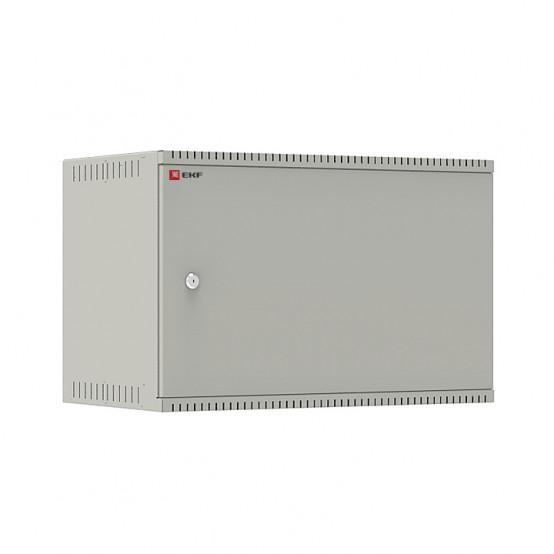 Шкаф телекоммуникационный настенный 6U (600х350) дверь металл, Astra E серия EKF PROxima