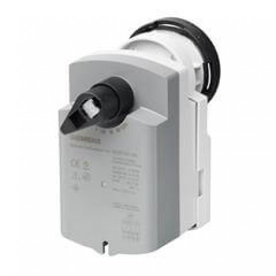 Электромоторный привод с пружинным возвратом для шаровых клапанов