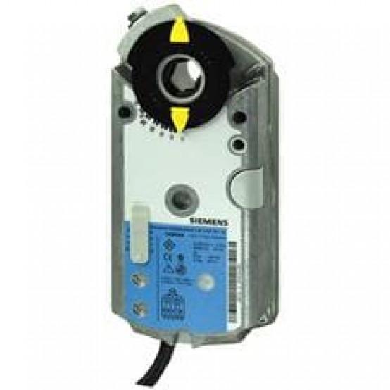 Роторный привод воздушной заслонкии, AC/DC 24 В, 6 Нм, DC 0(2)...10 В / 0(4)...20 мА, с электронной функцией защиты от отказов, 2 переключателя