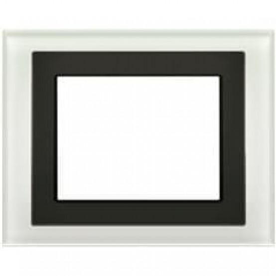 Рамка UP 588/815, для информационных панелей UP 588, белое стекло (снимается с производства)