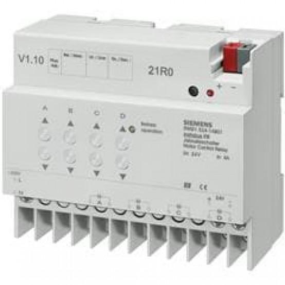Модуль управления жалюзи N 524, 4х6…24V 1A, для установки на DIN-рейку, 4 ТЕ