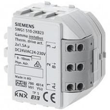 Модуль управления термических приводов, 2 x 1.5 A, AC 24...230 V / DC 24 V