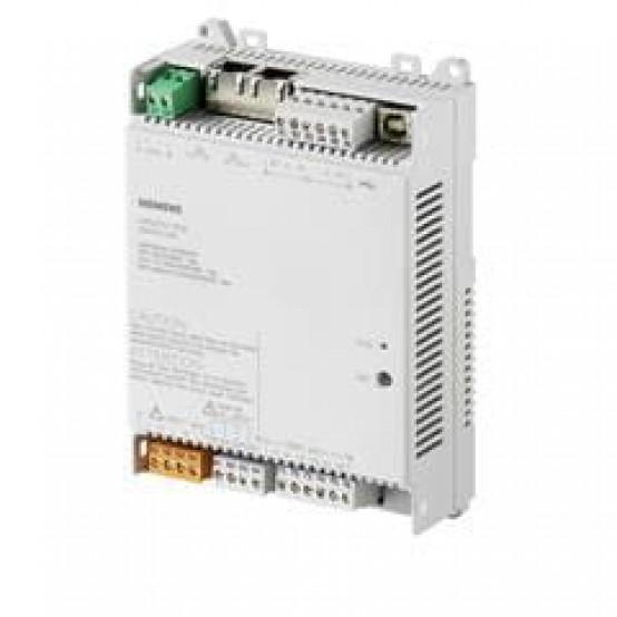 Компактная станция автоматизации, BACnet / IP, 230 В, плоский корпус, 1 DI, 2 UI, 3 реле, 4 симистора.