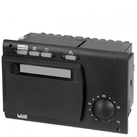 Контроллер котла, двухступенчатый, 1 отопительный контур, ГВС, LPB,