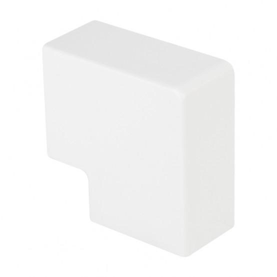 Поворот 90 гр. (25х16) (4 шт) Plast EKF PROxima Белый