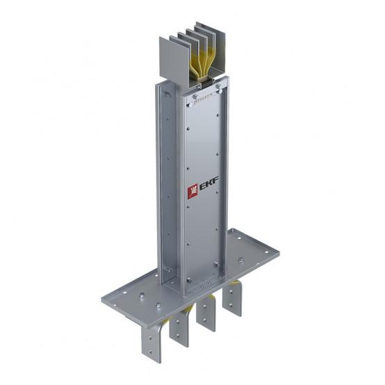 Фланцевая секция для подключения к щиту нестандартной длинны 400 А IP55 AL 3L+N+PE(КОРПУС)