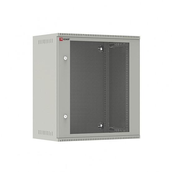 Шкаф телекоммуникационный настенный 12U (600х350) дверь стекло, Astra E серия EKF PROxima
