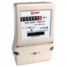 Счетчик электрической энергии СКАТ 102М/1 - 5(60) Ш П EKF PROxima