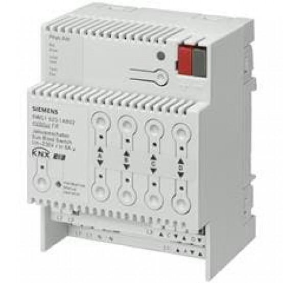 Модуль управления жалюзи N 523/02, 4х230V 6A, для установки на DIN-рейку, 4 ТЕ