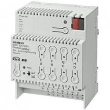 Диммер/выключатель N 525Е, 8 выходов, по 8хDALI или 8хEVG на каждый выход, для установки на DIN-рейку, 4 ТЕ