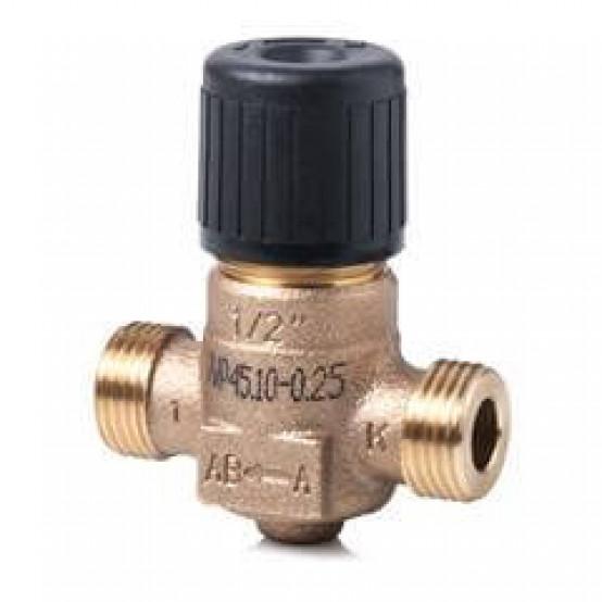 Клапан регулирующий, 2-ходовой седельный, внешняя резьба, PN16, DN10, KVS 0.4