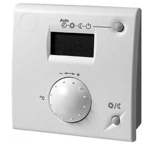 Комнатное устройство, тепловой насос, задатчик уставки, селектор режима работы, ЖК-дисплей