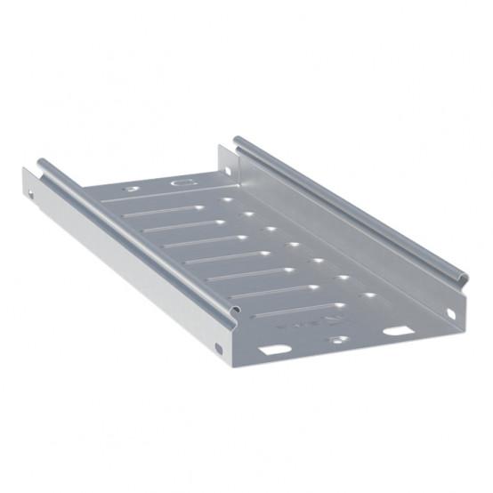 Лоток неперфорированный металлический 50х500х3000-1,0мм (6м) EKF