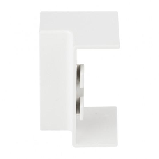 Угол внутренний (40х40) (4 шт) Plast EKF PROxima Белый