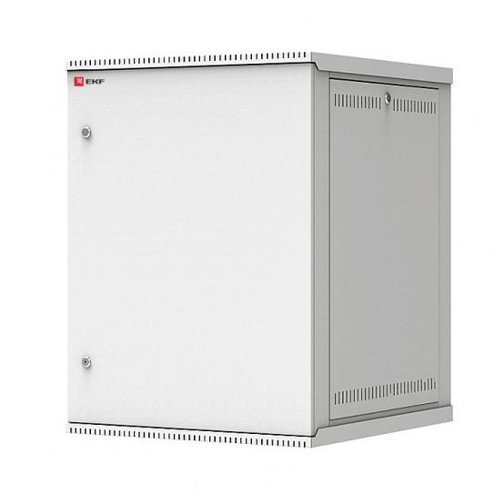 Шкаф телекоммуникационный настенный разборный 15U (600х650) дверь металл, Astra E серия EKF PROxima