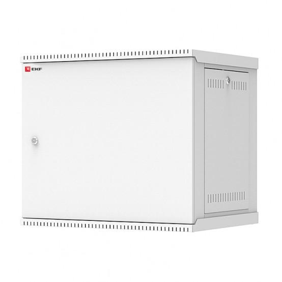 Шкаф телекоммуникационный настенный разборный 9U (600х450) дверь металл, Astra E серия EKF PROxima