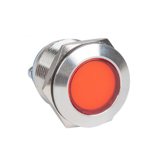 Лампа красная сигнальная S-Pro67 19 мм 230В EKF PROxima