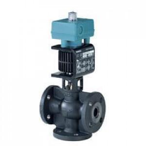 Смесительный/2-ходовой клапан, фланцевый, PN16, DN40, kvs 20, AC/DC 24 В, 0/2...10 В, 4...20 мА, для среды с минеральным маслом