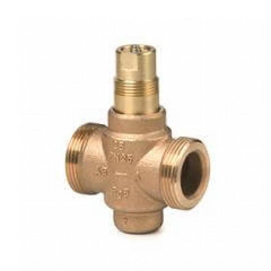 2-ходовый седельный клапан, внешняя резьба, PN25, DN25, kvs 6.3, с компенсацией по давлению