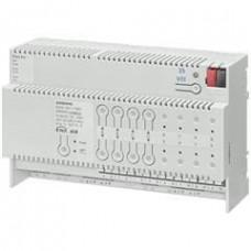 Модуль управления N 501, для жалюзи, комбинированный актуатор жалюзи/двоичный вход, выходы 4х230V AC 6A, 8 безпотенциальных входов, на DIN-рейку, 4 ТЕ