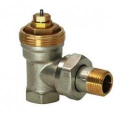 Угловые радиаторные клапаны, NF, 2-х трубная система, PN10, DN10, kvs 0.09..0.63