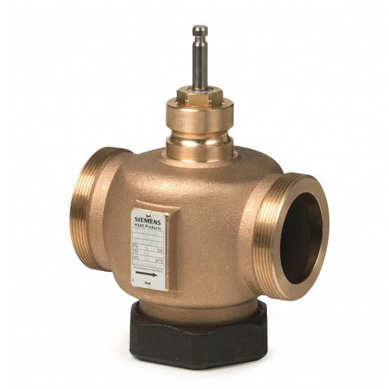Клапан регулирующий, 2-ходовой седельный, резьбовые, PN16, DN15, KVS 0.63