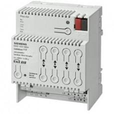 Модуль управления жалюзи N 523/04, с функцией учёта солнечной активности, 4х230V 6A, для установки на DIN-рейку, 4 ТЕ