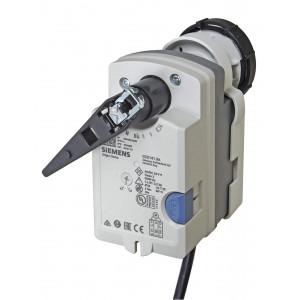 Привод поворотного типа для шаровых клапанов, без пружинного возврата, AC 24 V, DC 0...10 В, 5 НМ, 150 С
