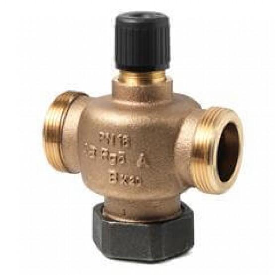 2-ходовый седельный клапан, внешняя резьба, PN16, DN25, kvs 10