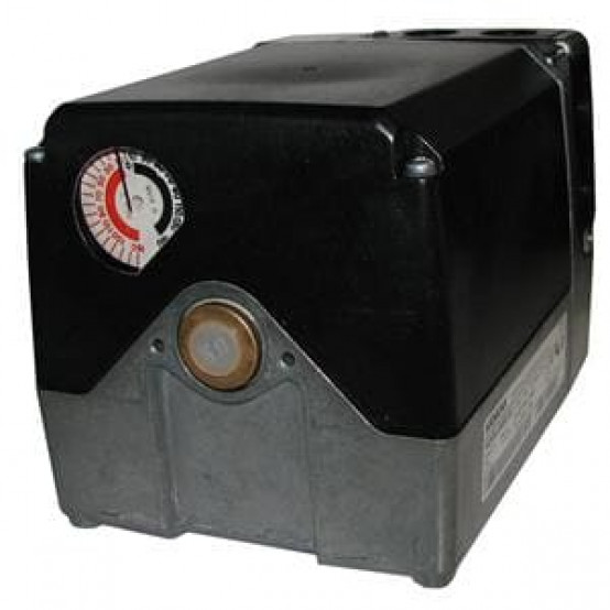 Привод, 25 Нм, 90 ° / 30 с, 8 переключателей, вал 12 мм + ключ, CE, AC230В