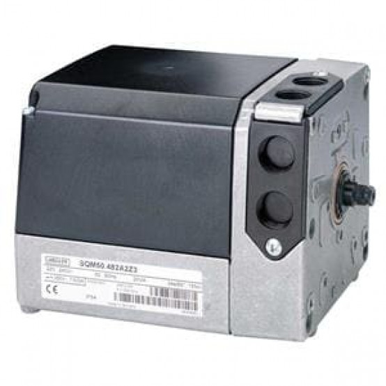 Привод, 10 Нм, 90 ° / 15 с, 4 переключателя, вал 10 мм + ключ, CE, AC230В