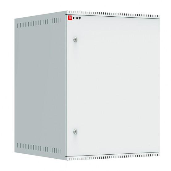 Шкаф телекоммуникационный настенный 15U (600х650) дверь металл, Astra A серия EKF Basic