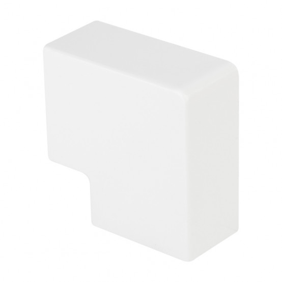 Поворот 90 гр. (40х25) (4 шт) Plast EKF PROxima Белый