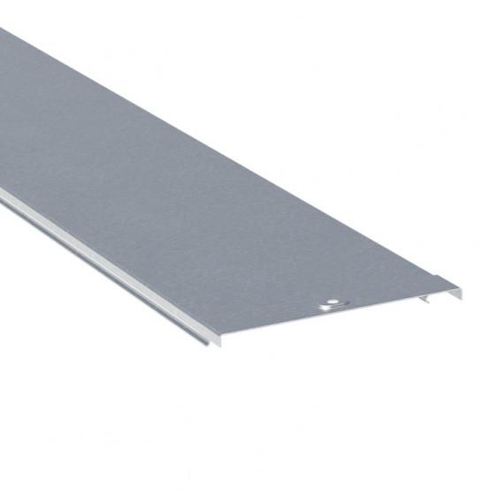Крышка на металлический лоток основание 50мм (24м) L3000 RAL EKF