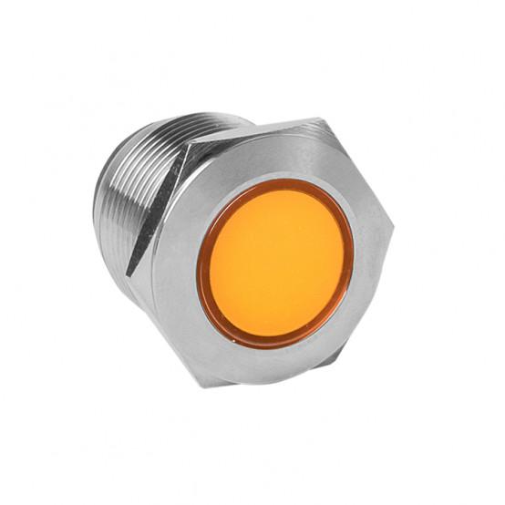 Лампа оранжевая сигнальная S-Pro67 19 мм 24В EKF PROxima
