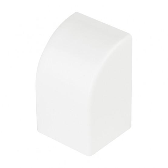 Заглушка (40х25) (4 шт) Plast EKF PROxima Белый