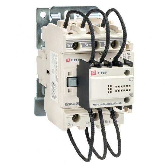 Контактор для конденсатора КМЭК 25квар 400В 2NО+1NC EKF PROxima