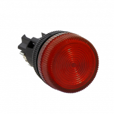 Лампа сигнальная ENS-22 красная 24В EKF PROxima